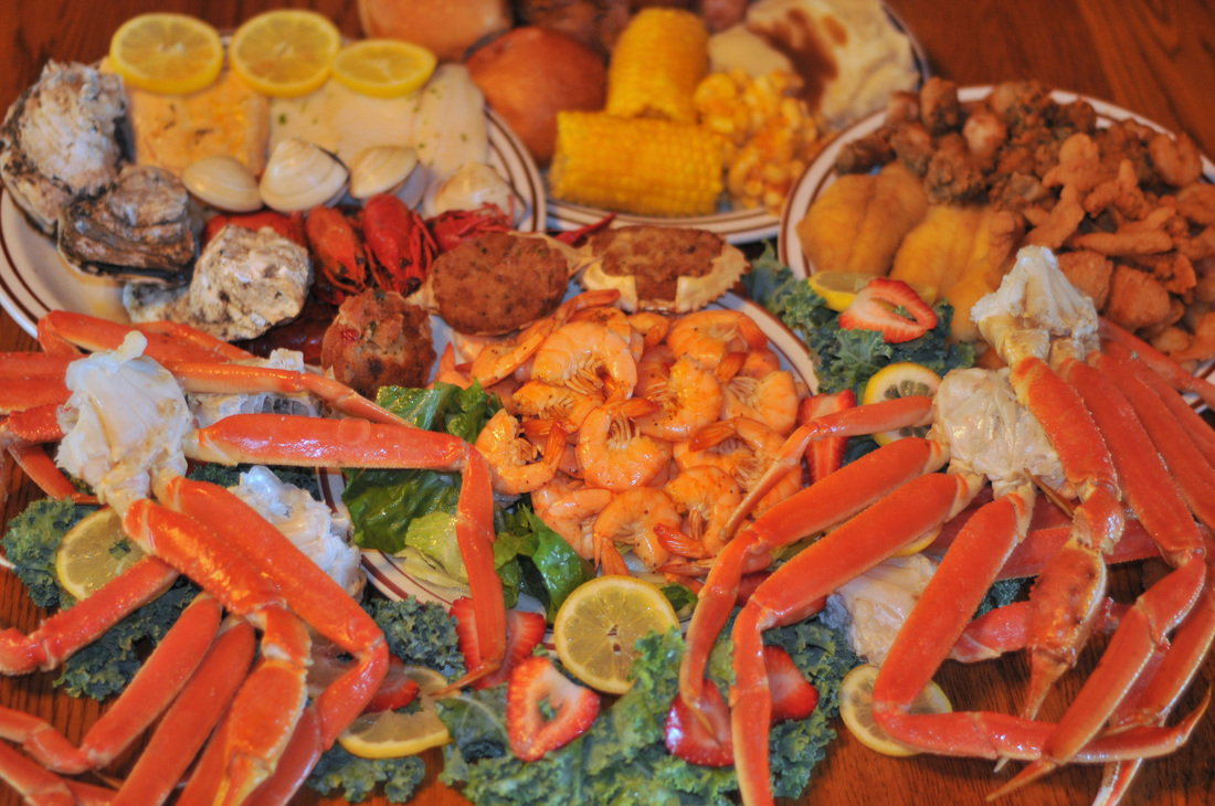 Preston S Seafood Country Buffet Menu